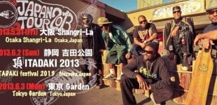 Fishbone Heads to Japan for Itadaki Festival May 31 - June 3