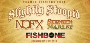 Just Announced! Fishbone joins Slightly Stoopid for Summer Sessions Tour 2014 in California July 17-19