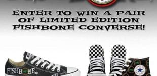 Enter to WIN A PAIR OF LIMITED EDITION CONVERSE!