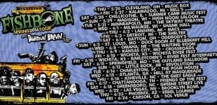Fishbone Announces Spring Tour May 26 - June 18