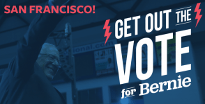 A Future to Believe In San Francisco with Bernie Sanders
