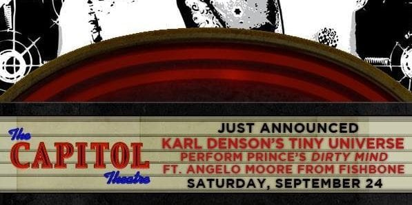 Angelo Moore with Karl Denson's Tiny Universe at The Capitol Theatre In Port Chester, NY Sat 9/24
