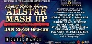 Nights After NAMM Allstar Mashup at the House Of Blues Anaheim