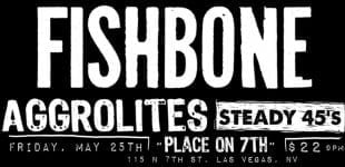 Fishbone hits the Punk Rock Bowling Festival at Place on 7th 5/25/18!